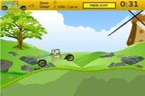 Play Ben 10 milk truck game