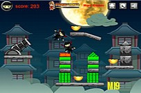 Play Ninja Cannon Shots game