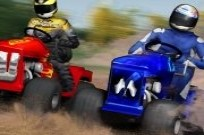 Play Lawnmower Racing 3D game