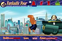 Spelen Fantastic Four rush crush spel