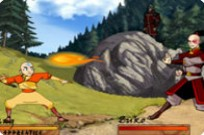 Avatar: The Last Air Bender bockning strid spel