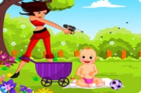 Play Bee Picnic Attack game