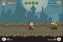 Play Nerd vs Zombies Just Survive game