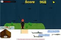 Play Shark Fishing game