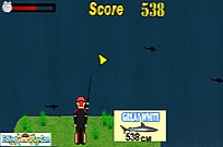 Play Sharks Fishing game