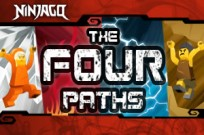 играя Ninjago The Four Paths игра