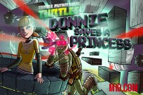 jugar Teenage Mutant Ninja Turtles: Donnie guarda una princesa juego