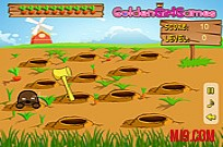 Удари Ground Hogs Game