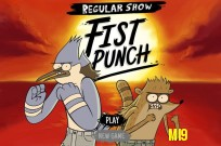 Play Regular Show Fist Punch game