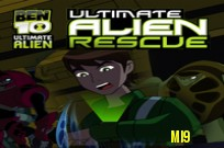 pelata Ben 10 Ultimate Alien Rescue peli