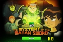 Lecture Ben 10 The Mystery of the Sword maya jeu