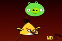 Play Angry Birds Ninja Fruit game