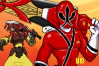 Afspil Power Rangers Samurai: Portals of Power 2 Player spil