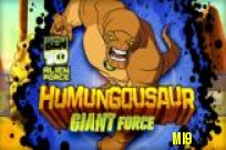 Play Ben 10 Humungousaur Giant Force game