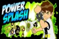 pelata Ben 10 Power Splash peli