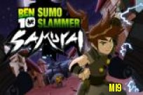 Play Ben 10 Sumo Slammer Samurai game