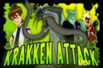 Ben 10 Krakken Attack Game