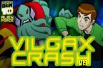 Play Ben 10 Vilgax Crash game