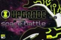 Spelen Ben 10 Upgrade Space Battle spel