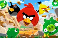 Play Angry Birds Fighting in the Air game