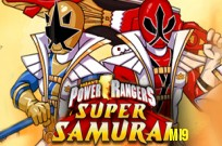 Power Rangers samuraj: Super Samurai spel