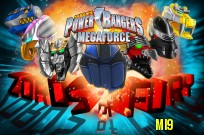 mängima Power Rangers Megaforce: Zords of Fury mäng