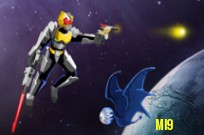 mängima Power Rangers Megaforce: Robo Knight Flight Fight mäng