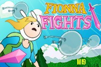 spielen Adventure Time: Fionna Fights Spiel