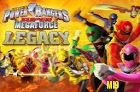 pelata Power Rangers Super Megaforce: Legacy Game peli