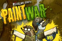Play Regular Show :  Paint War game