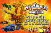 Lecture Power Rangers Megaforce super: Super grève jeu