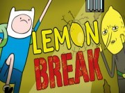 Adventure Time : Lemon Break Game