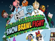 Play SnowBrawl Fight game