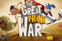 Play Adventure Time : Prank War game