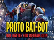 Play Batman :  Proto Bat-Bot: Bot Battle for Gotham City game
