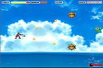 Play Rocket Fighter - The Lost Land Of Drain game