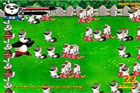 Play Panda Vs Zombies game
