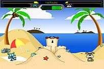 Play Cat Vs Dog At The Beach game