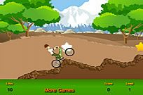 Play Ben 10 Bicycle game