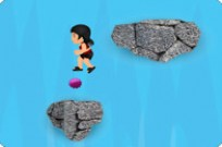Play Brenda Waterfall Jump game
