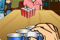 Play Frat Boy Beer Pong game