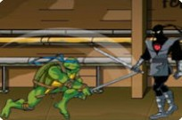 Play Ninja Turtles Foot Clan game