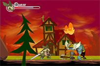Play Armadillo Knight game