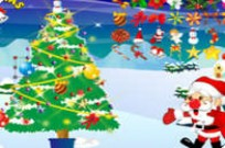 Play Christmas Tree Cards game