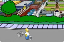 Play Homers Beer Run game