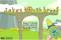 Jake's Tough Break Adventure Time cartoon Game