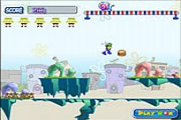 Play SpongeBob Crazy Run game