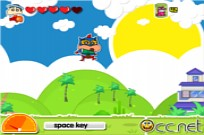 Play Crayon ShinChan Time Parkour game