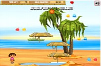 Play Dora and diego beach treasure: game