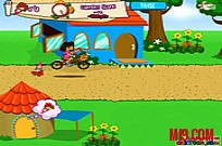 Play Dora Flower Rush game